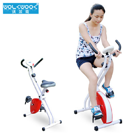 Volcker new home magnetic exercise bike bicycle equipment can be charged with folding type magnetic car spinning exercise bike
