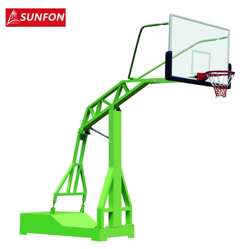 Volcker outdoor recessed box imitation hydraulic basketball outdoor basketball standard adult mobile basketball than race with a basketball