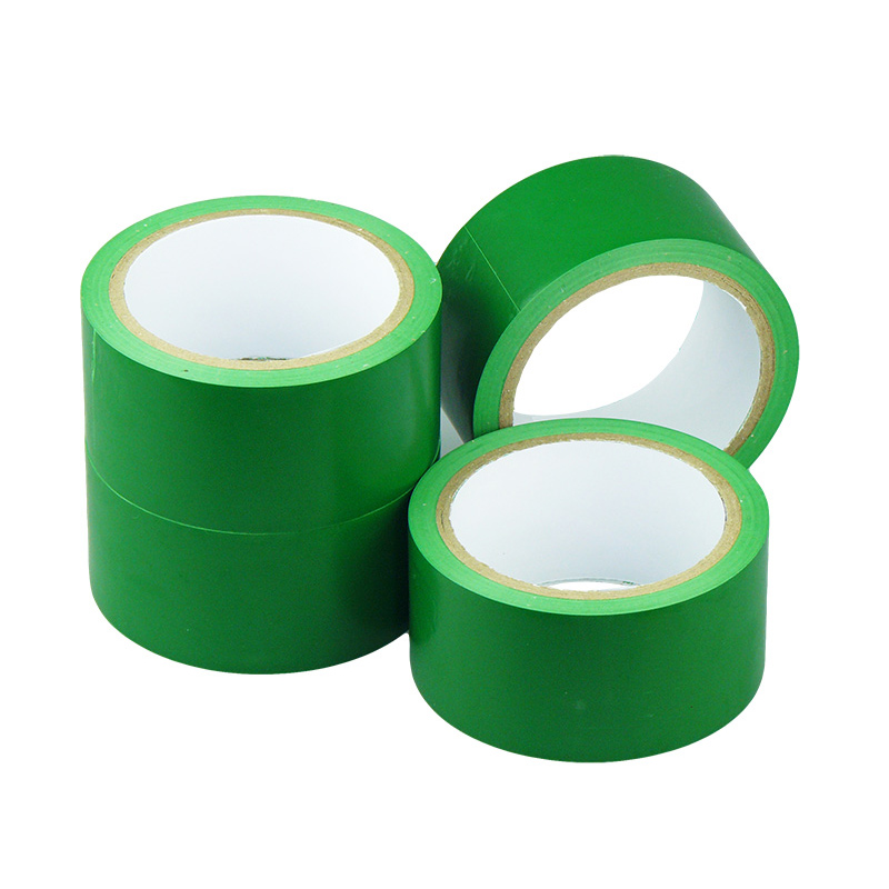 Volume 12 green zebra tape warning tape pvc floor marking tape warning tape 4.8 cm tape showing forbidden