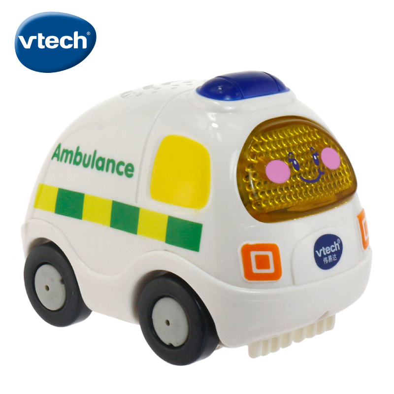 Vtech vtech magical track ambulance ann 80-119718 acoustooptic children small toy car
