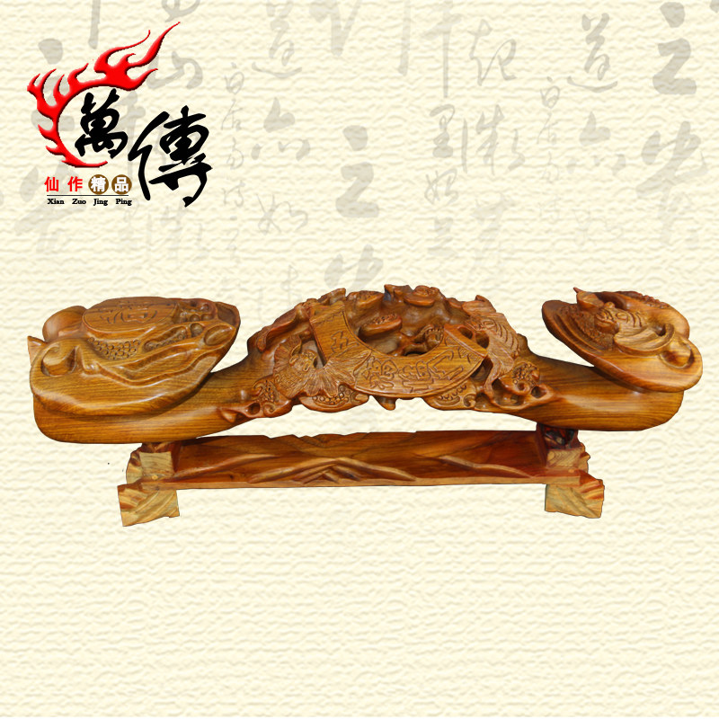 Wan chuan pear homeplan woodcarving wishful wishful auspicious ornaments lucky business gifts home accessories
