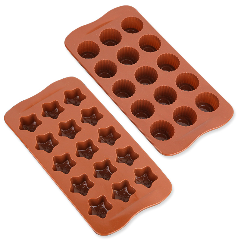 Wang xin spectrum silicone mold chocolate handmade chocolate mold chocolate mold baking tools diy stereo