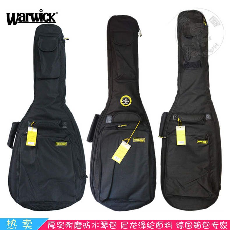 Warwick warwick rockbag RB20516 thick electric guitar package guitar ballad bass guitar piano bag backpack