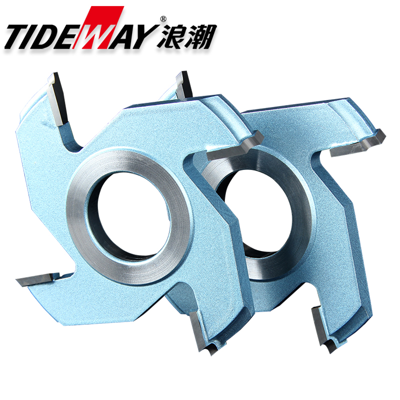 Wave plate milling cutter knife woodworking tool woodworking door core solid core wood lines in forming tool knife knife