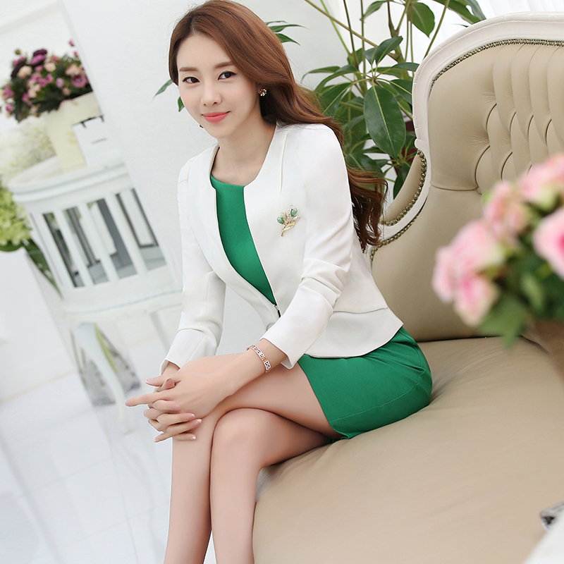 Wear pants suit ol korean ladies ol temperament ladies fashion dress suit overalls work clothes autumn
