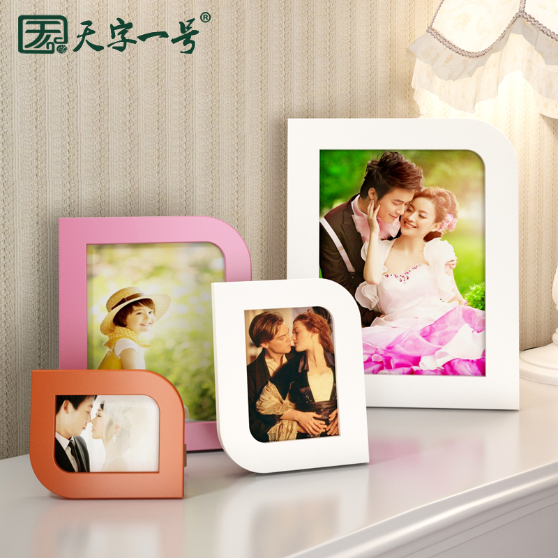 Wedding photo swing sets creative photo frame wall six seven 5 6 7 8 10 16 10-inch photo frame small frame photo frame photo