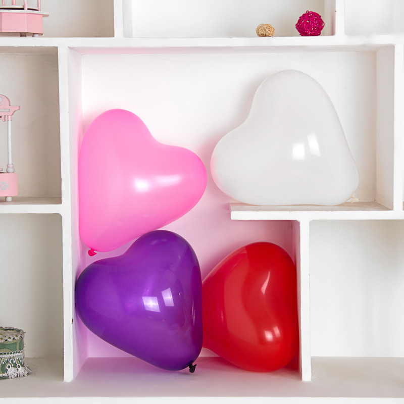 Wedding props to marry wedding thickened heart shaped balloon modeling balloons birthday party balloon wedding supplies wedding room decoration