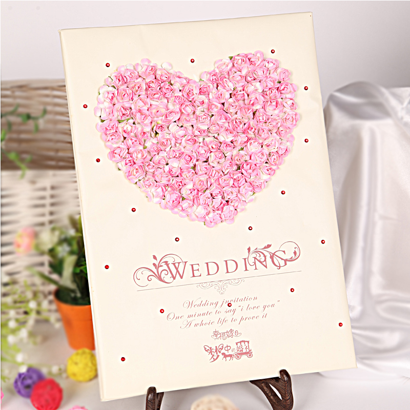Get Quotations Wedding Supplies Signature Sign Copies Of The Marriage European Attendance Book Thin