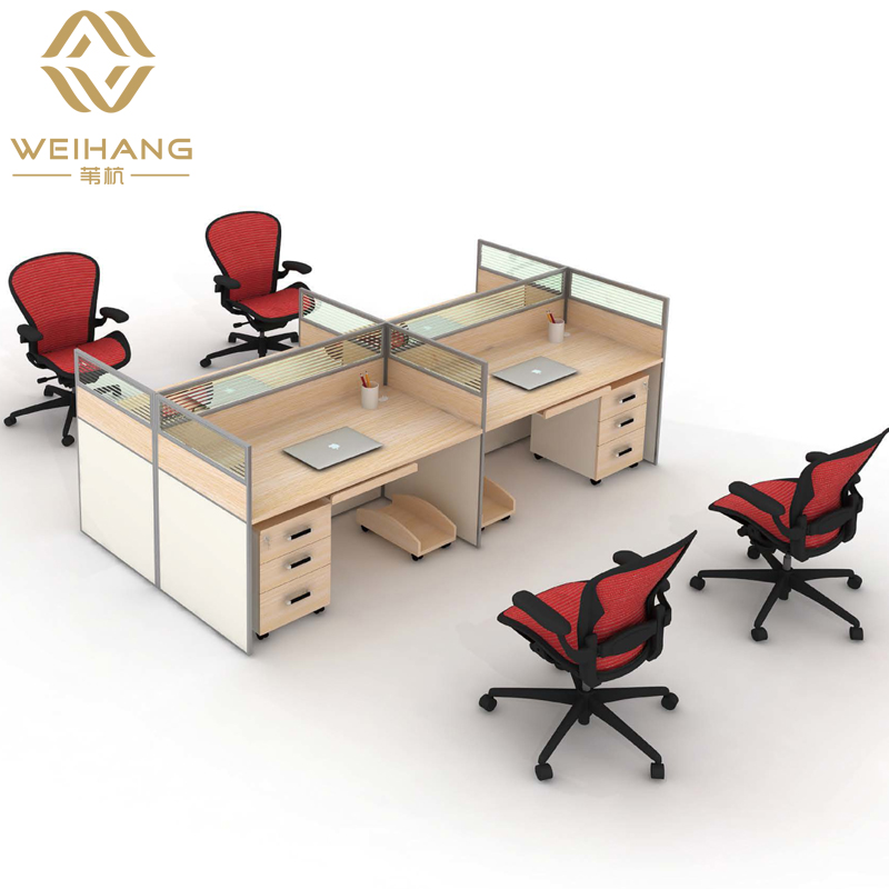 Wei hang shanghai guangzhou office furniture fashion combination of screen work stations screen style office desk minimalist modern
