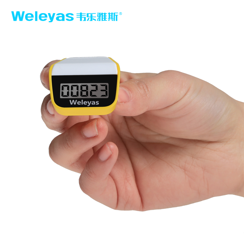 Weleyas/wei leya adams multifunction electronic pedometer step counter genuine step measuring device counters
