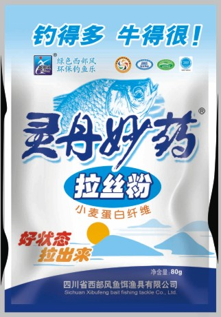 Western wind panacea bait drawing powder 80g bait bait fish food additives full shipping