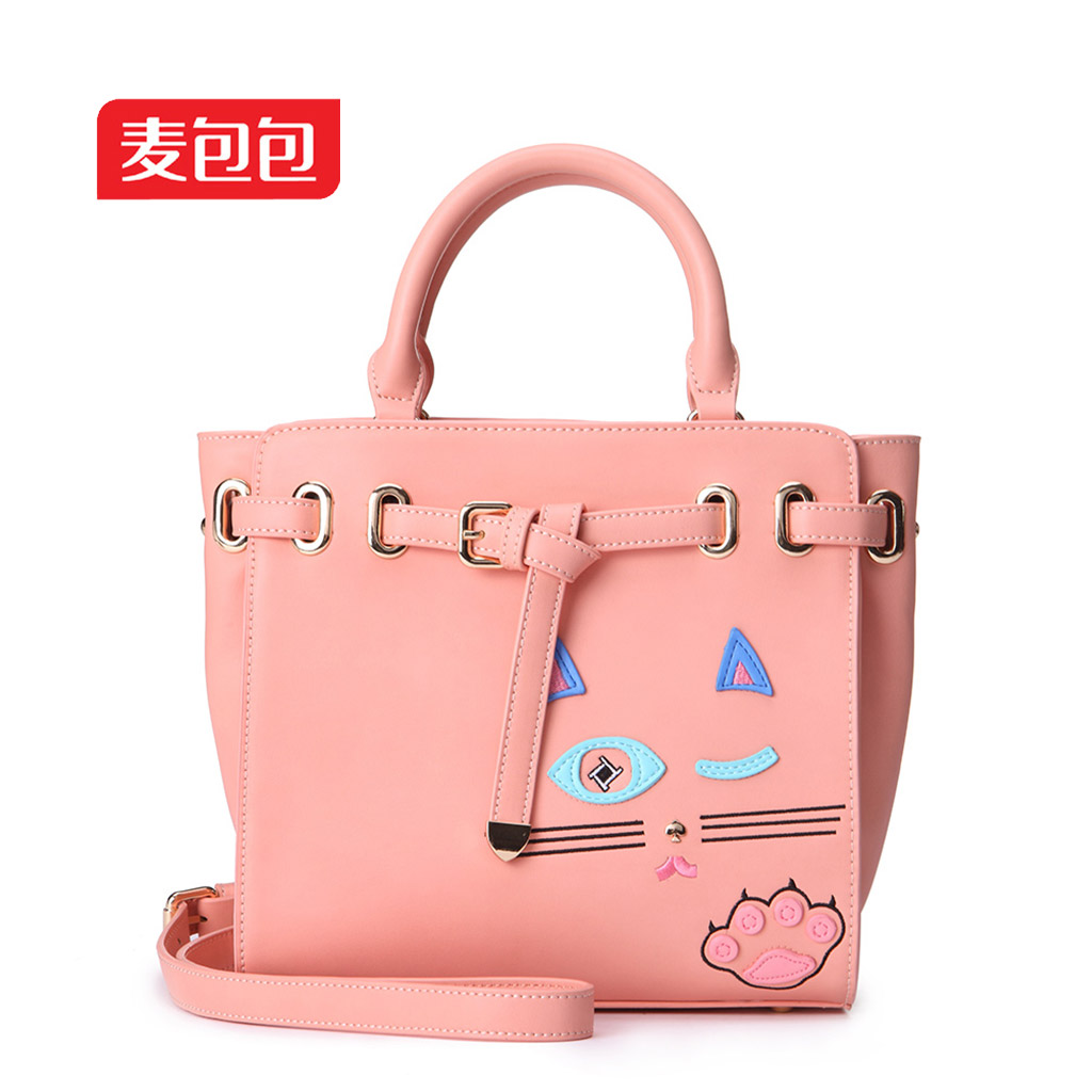 Wheat bags 2016 summer new lovely ladies fashion handbags handbag shoulder messenger bag ladies bag