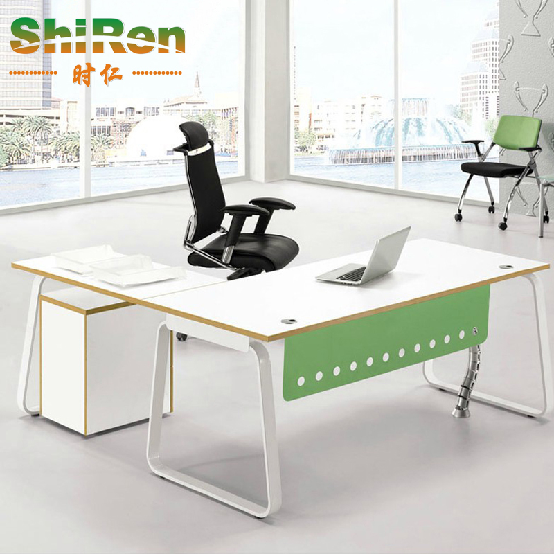 [When] shanghai office furniture simple and fresh and stylish modern boss desk desk desk manager deals orgiastic