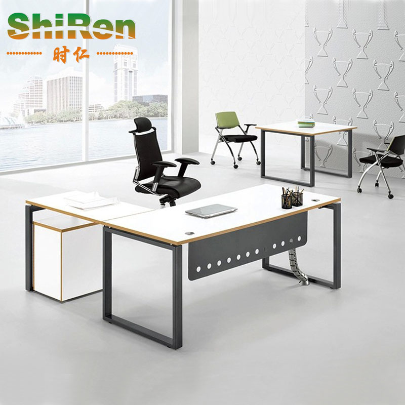[When] shanghai office furniture stylish classic color atmosphere boss desk specials