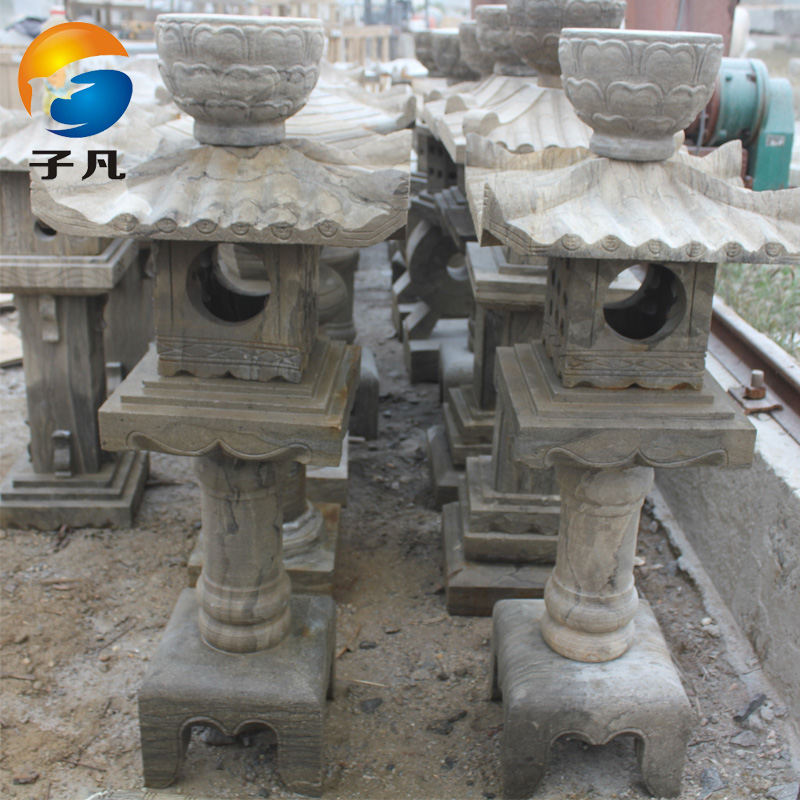 Where the sub special antique stone carving stone lantern hotel courtyard garden stone carving stone lantern lamp ornaments palace sd28