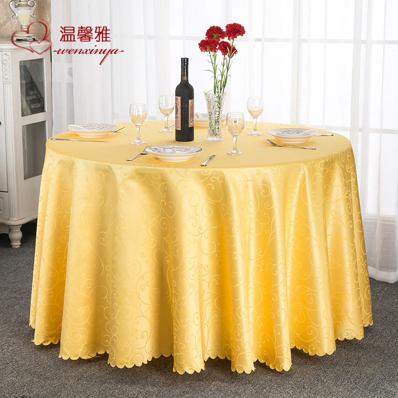 Wholesale european fabric tablecloth hotel tablecloth hotel tablecloth restaurant coffee table dining table round table round table square table tablecloth custom