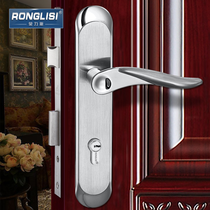 Wing tirith 304 stainless steel mechanical lock security door locks bedroom interior door locks wooden door locks