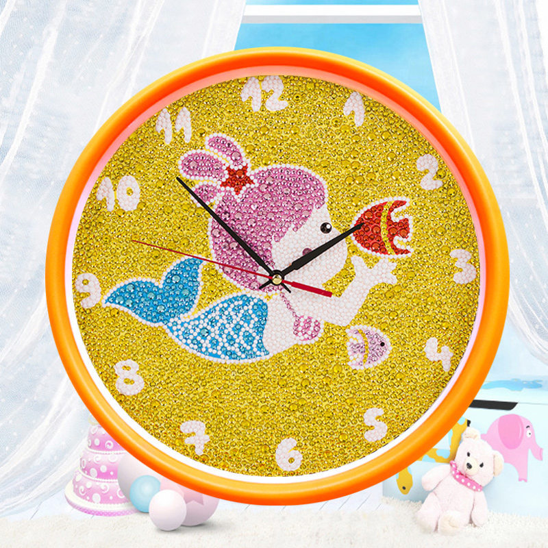 With a chest pad [frame] cube diamond drill adorable cartoon princess cartoon children's painting full diamond diamond diamond paste stitch