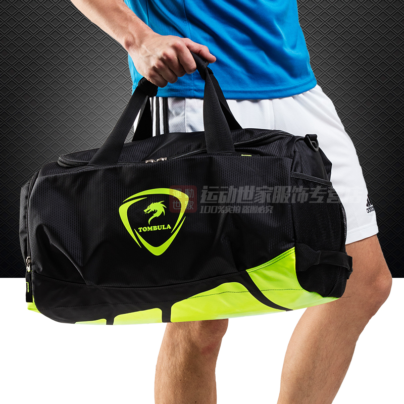 Get Quotations · Wolf men s sports bag gym bag football training package  travel bag large capacity diagonal shoulder bag 2d9abe42d050e