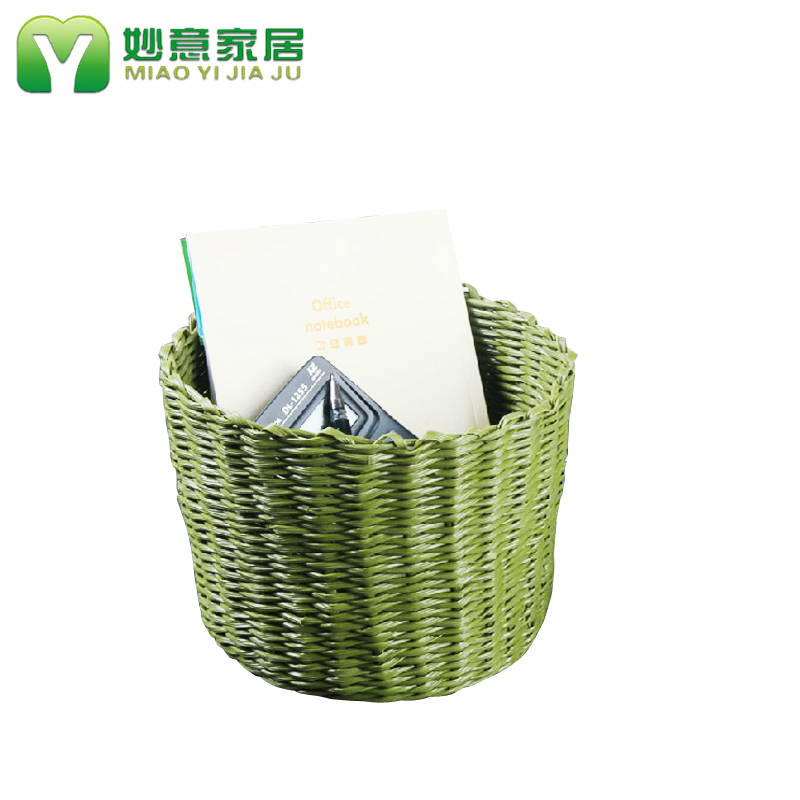 Wonderful italian storage pastoral rattan wicker storage basket plastic storage basket cosmetics storage box storage baskets storage