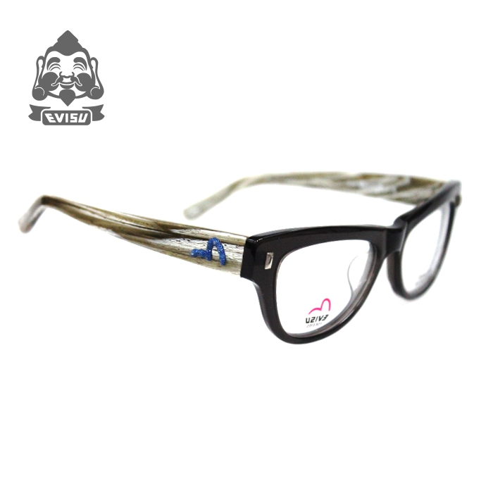 Wood ninety counter mascot evisu japanese all hand carved retro tortoiseshell glasses frame made 5 off shipping