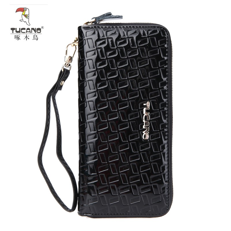 Woodpecker ms. long wallet leather wallet leather wallet purse wallet korean version of the influx of women's fashion