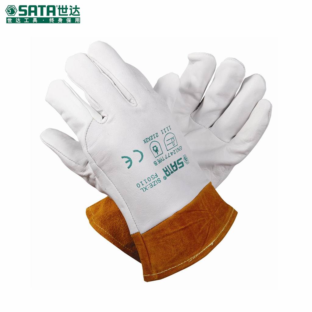 World of labor protective gloves labor gloves safety gloves xl fs0110 arc welding gloves welding gloves