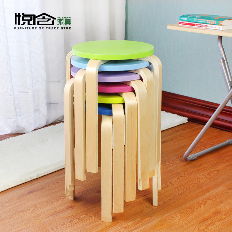 Wyatt containing non plastic stool stool thickening adult home dining table stool stool wooden bench stool stool stool fashion simple specials