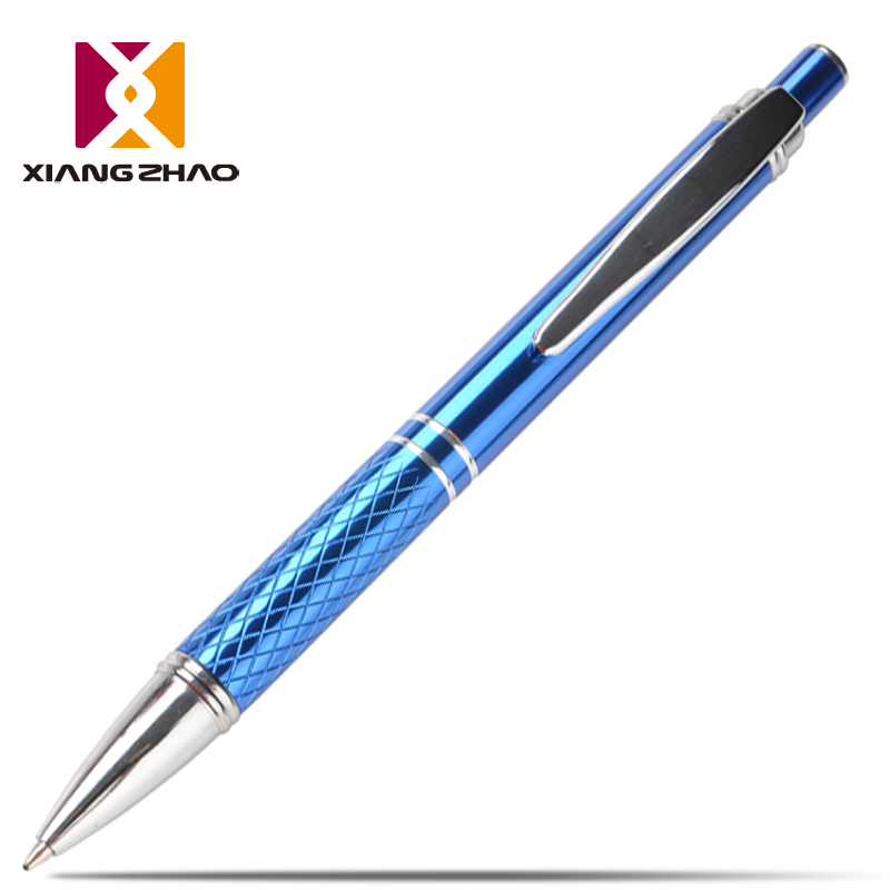 Xiangzhao metal type office ballpoint ballpoint pen pressed oil pen advertising pen student gift ideas original son customized printed logo