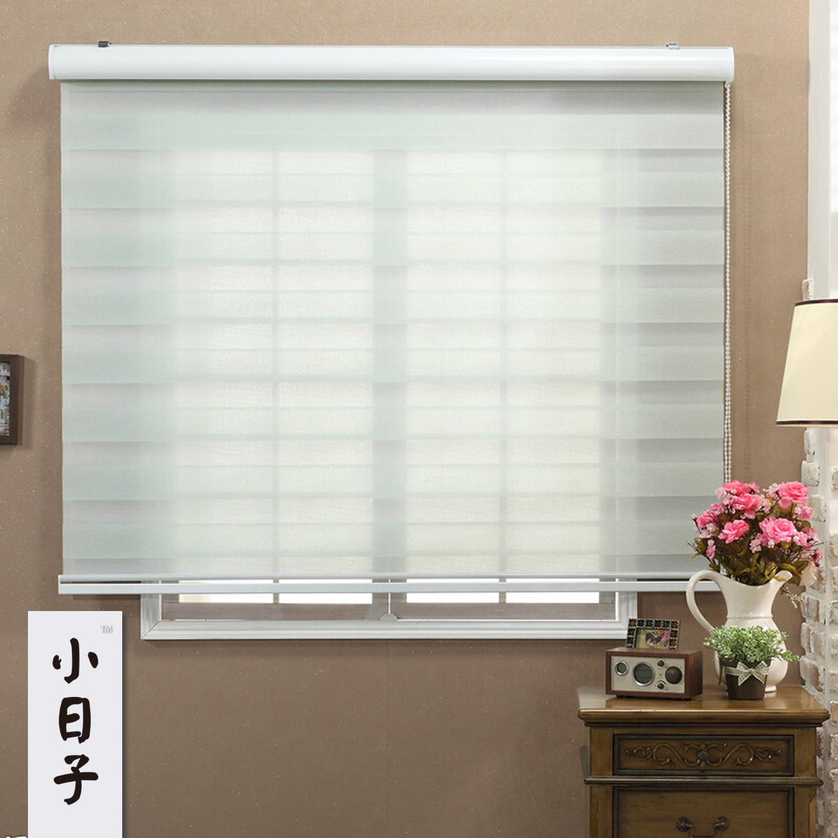 ts roll sunscreen pull at down lowes shades shade curtains guide natural curtain window roller up