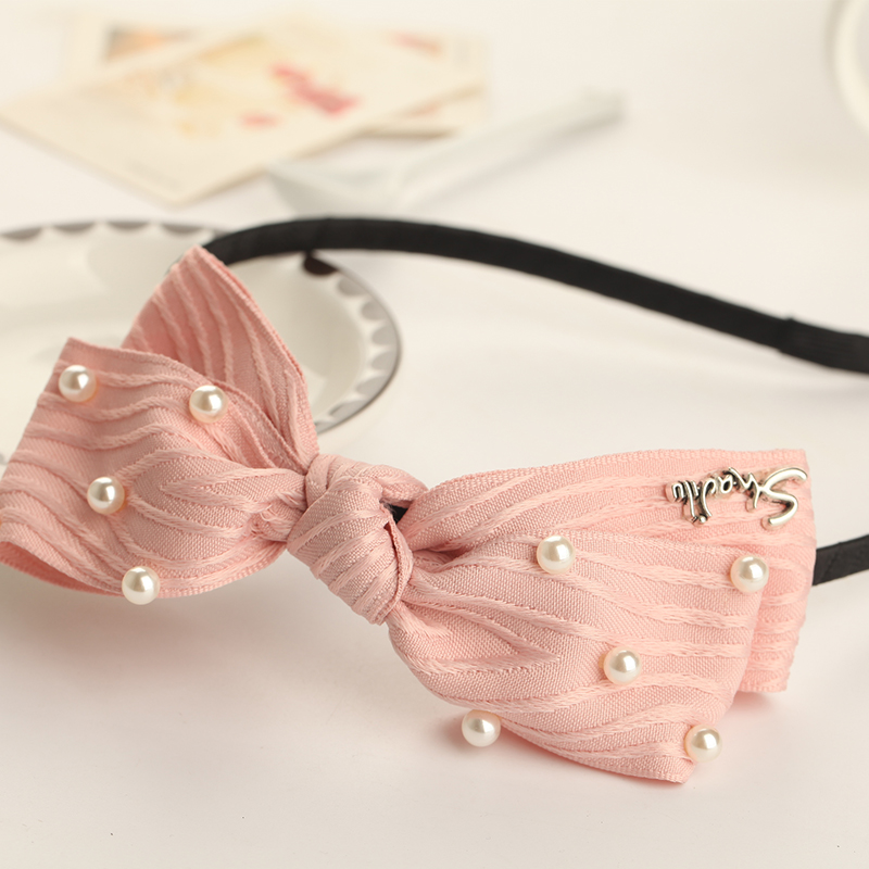 Xin mei imitation pearl cloth hair bands hair headdress hair accessories hairpin head buckle