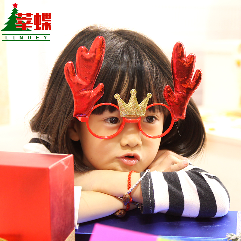 Xin skipperling glasses arale glasses christmas christmas decorations christmas decorations christmas gifts for children