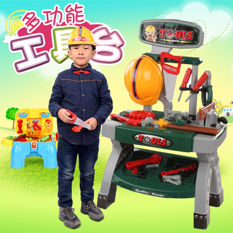 Xiongcheng versatile tool sets suit children's play educational toys interactive toys little engineer