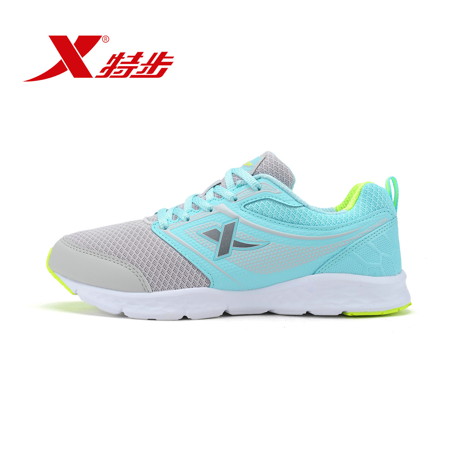 Xtep official authentic shoes breathable lightweight models fall fashion trend wild breathable running shoes women's sports tourism