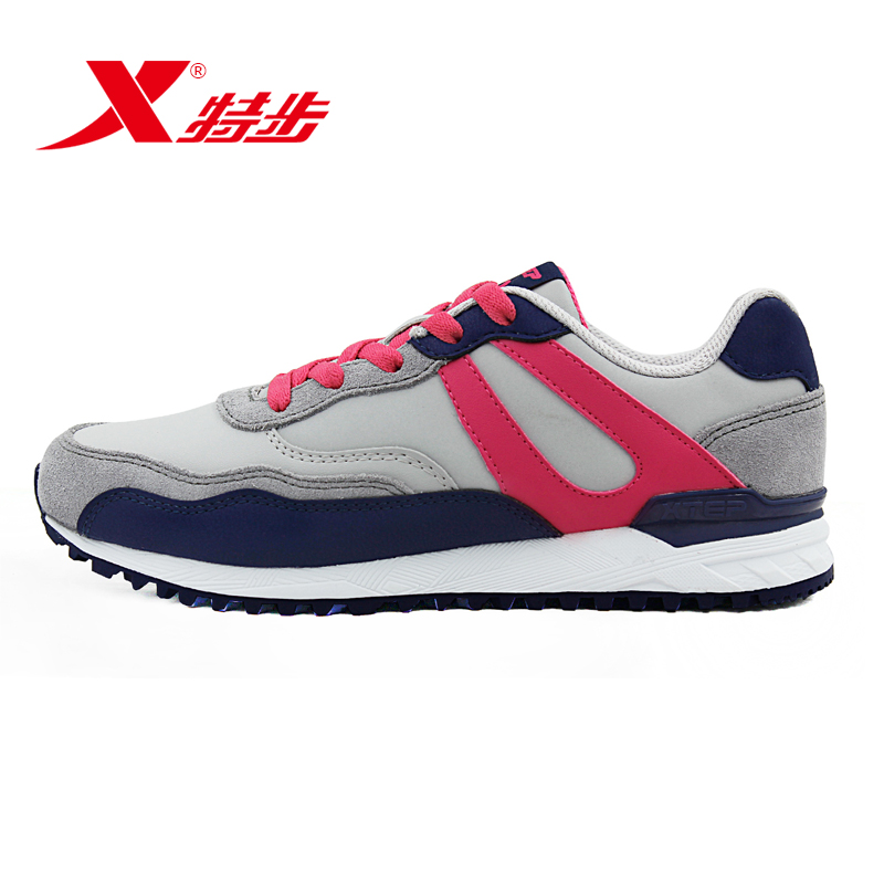 Xtep shoes running shoes 2016 new fall sports shoes women fashion shoes slip cushioning running shoes travel shoes