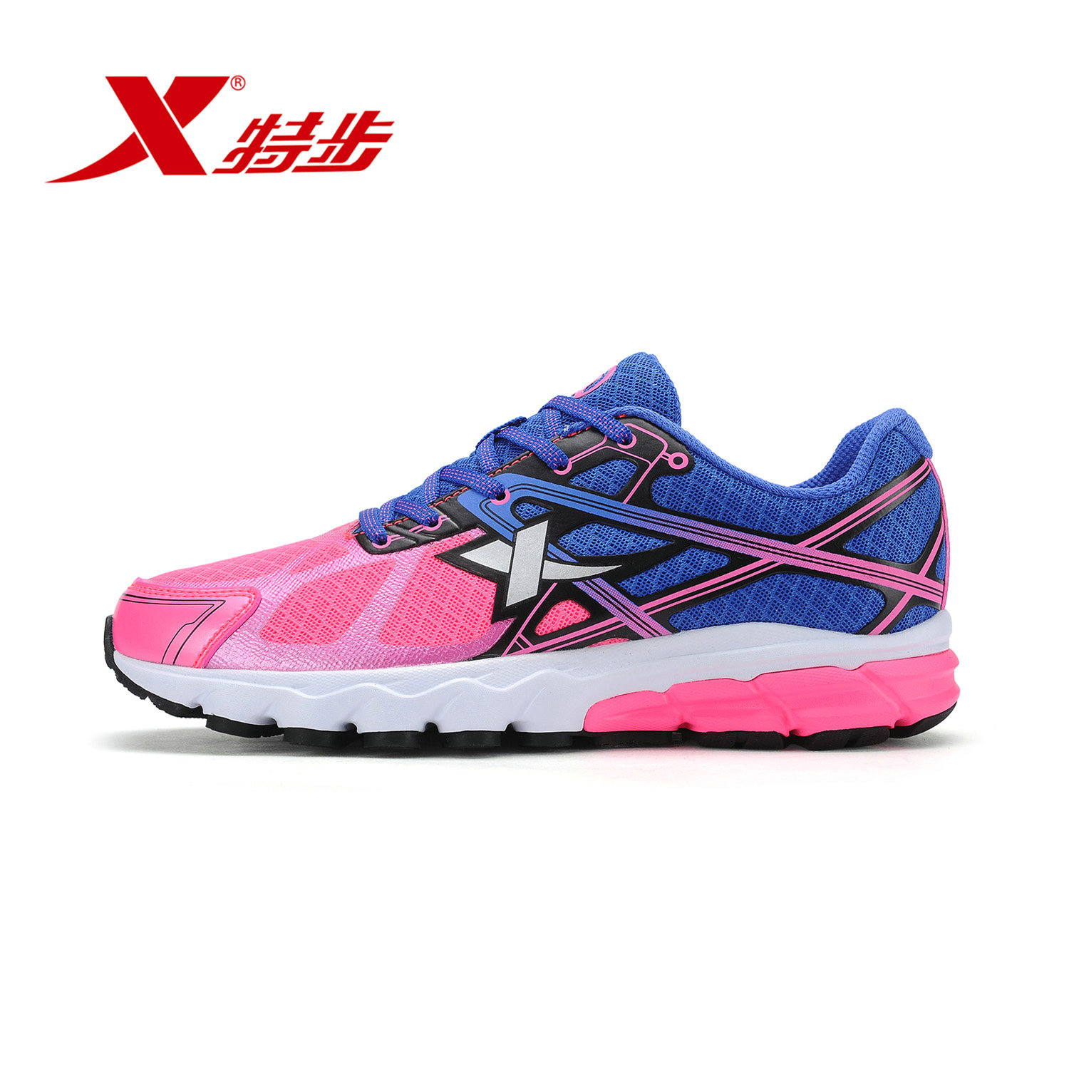 Xtep shoes sneakers running shoes women shoes 2016 spring and summer new women casual shoes lightweight breathable wear and shock absorption