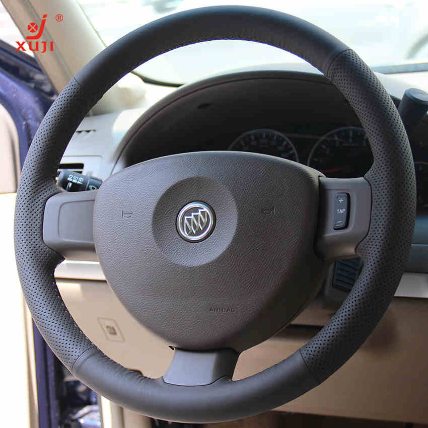 Xu remember buick gl8 special leather car sew leather steering wheel cover to cover modified cars