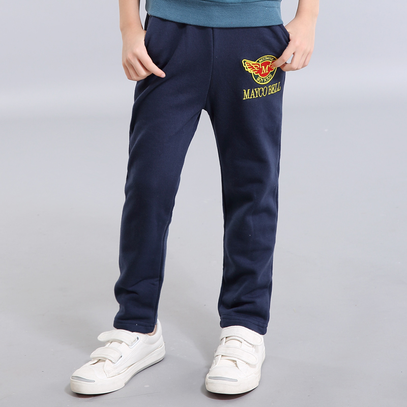 Xu ze kids autumn 2016 autumn children's jeans big boy pants boys sports pants casual pants spring and autumn paragraph