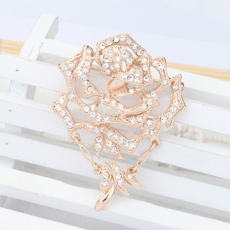 Ya bao/tassel flower brooch brooch albemarle season fashion brooch pin buckle corsage brooch pin buckle wild w