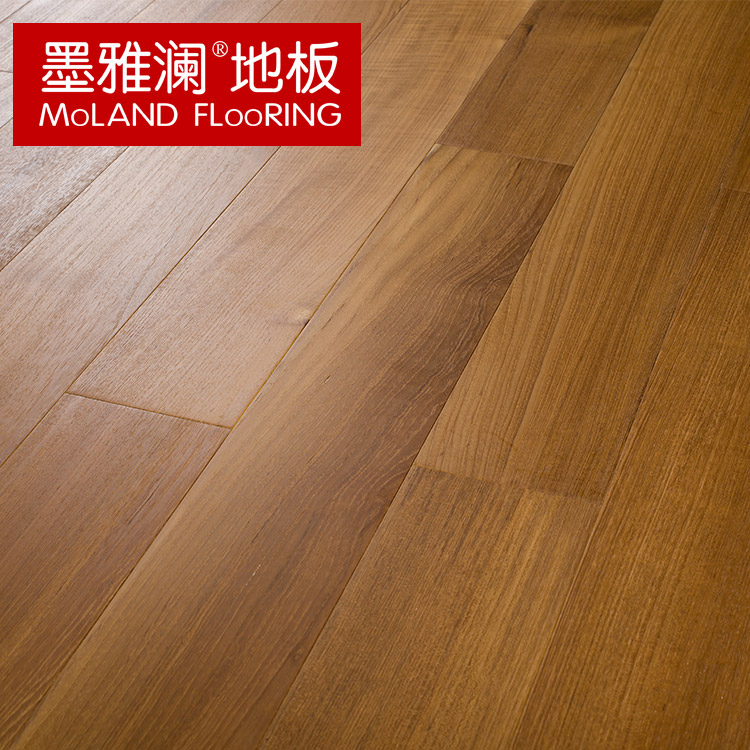 Ya lan ink tens of thousands of grapefruit pure burmese teak wood flooring 18mm wood wax oil 80 years boutique wild natural forests