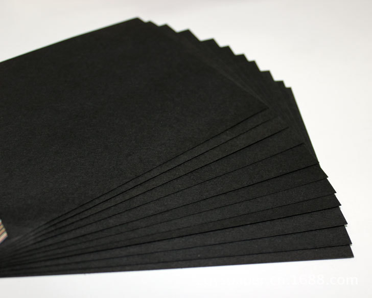 Ya zi g black wallpaper wrapping paper bag book paper gift wrapping materials full open a large sheet of black paper jams