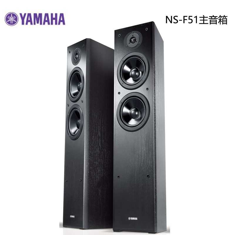 Yamaha/imahara NS-F51 NS-51 praevia main speaker 2.0 home stereo hifi floor boxes