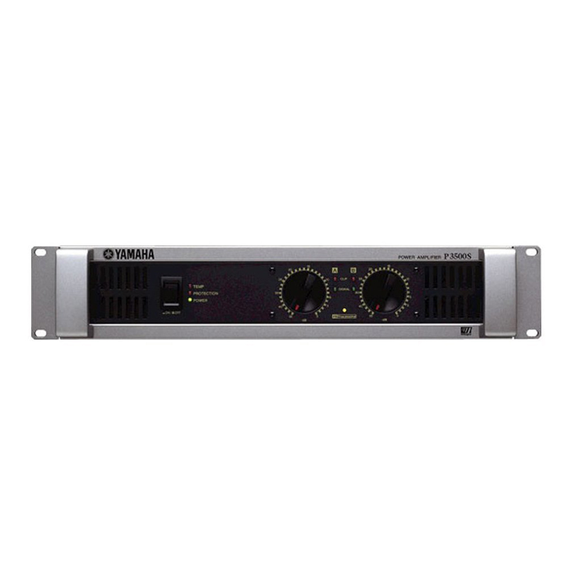 Yamaha/yamaha p3500s pure power amplifier professional amplifier power amplifier stage conference activities