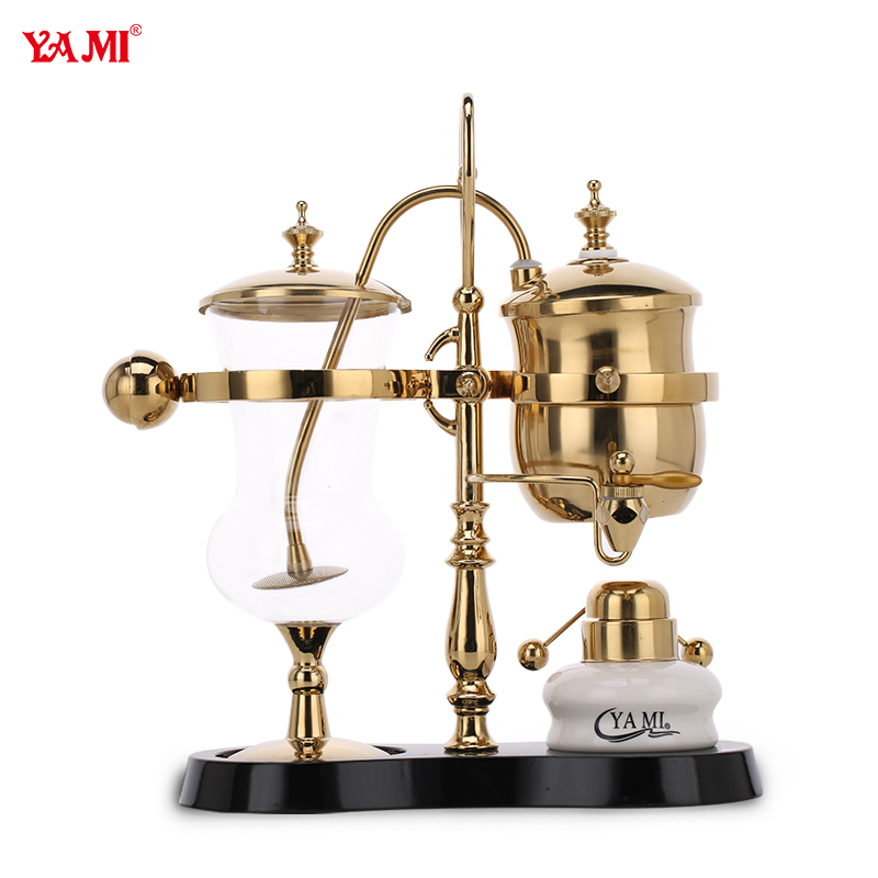 Yami yami generation royal belgian pot glass siphon coffee pot home coffee appliances shipping