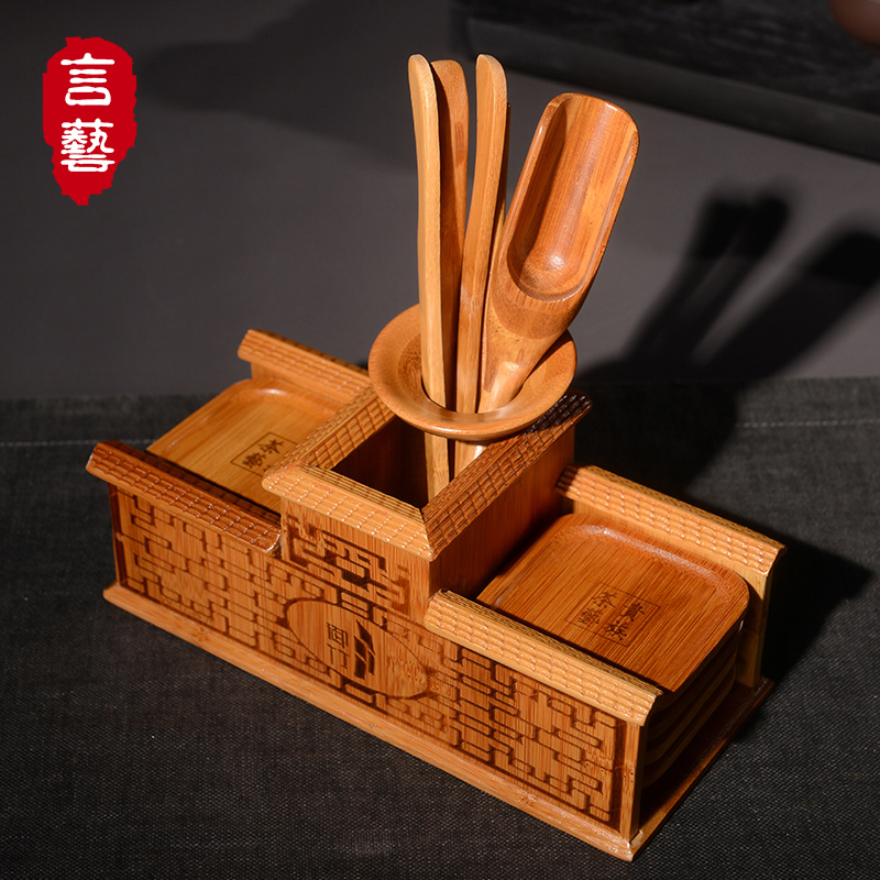 Yan yi kung fu tea accessories tea liujunzi bamboo tea tea kung fu tea royal bamboo tea ceremony BWBB82