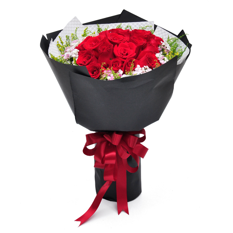 Get Quotations Yibin Gong County Birthday Gift Bouquet Of Red Roses Flower Delivery City Distribution Shop On