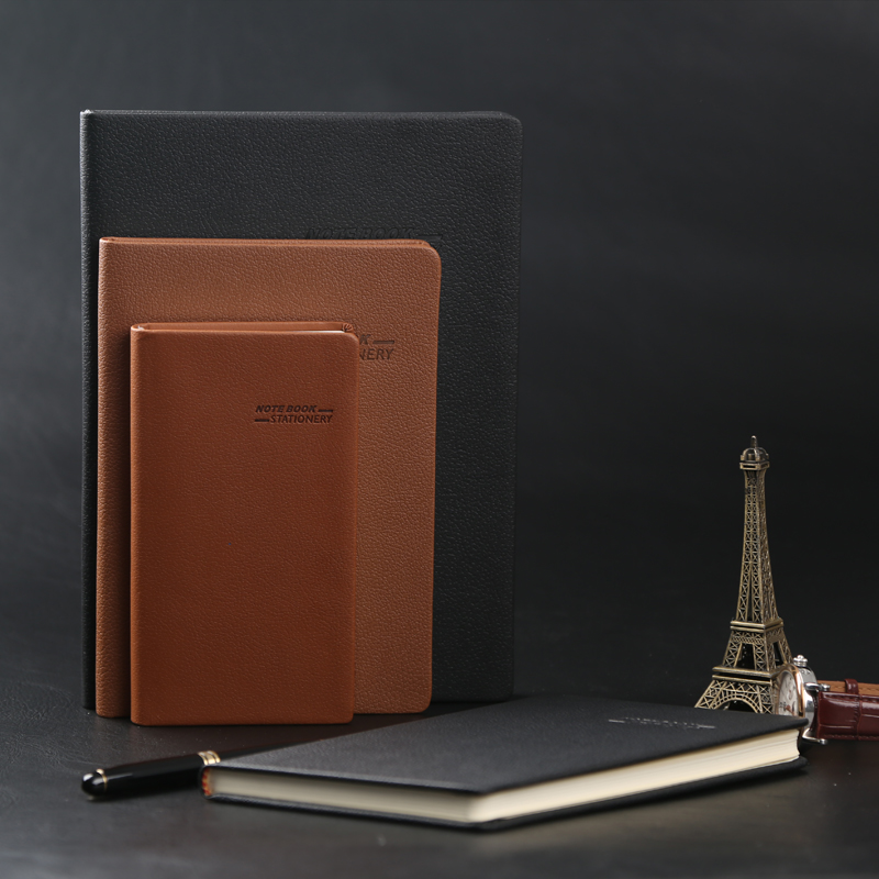 Ying li jia hardface copy a4 notebook notepad leather diary notepad office stationery notebook big book can be customized