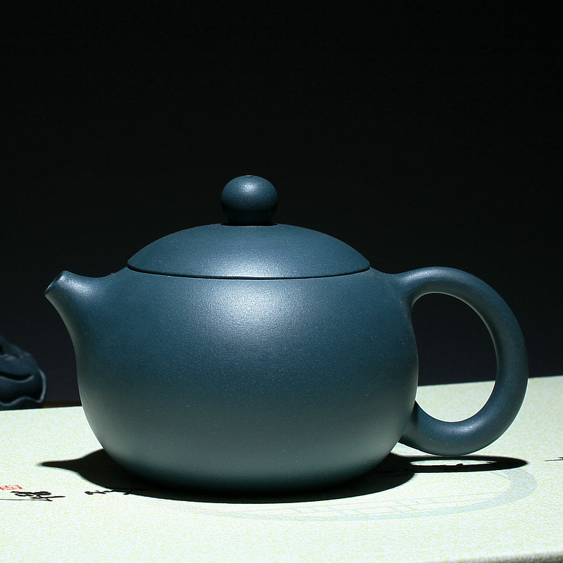 Ying xuan genuine special offer free shipping purple green dark green clay republic 210cc yixing teapot handmade beauties pot