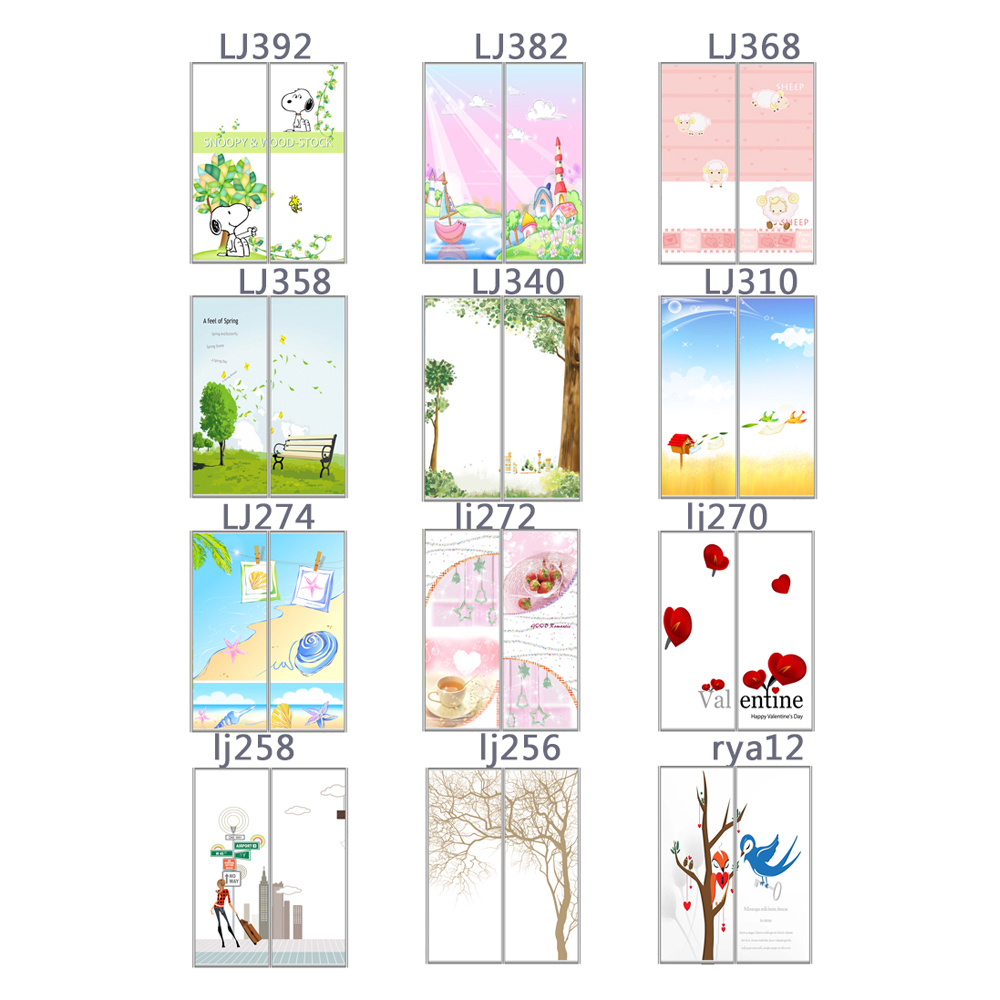 Ying zhen can be customized translucent frosted glass stickers affixed stickers furniture refurbished impervious to the matter of health among dedicated living room glass paste