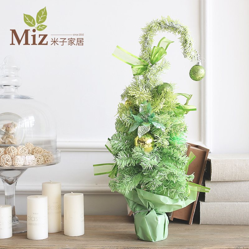 Yonago home christmas decorations supplies home decor swan gradient christmas tree christmas tree christmas supplies